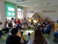 Galeria 2019.04.16 Zajęcia otwarte w grupie motylków w Żużeli