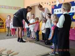 Galeria Pasowanie na przedszkolaka w Żużeli 2014
