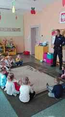Galeria Policjant w przedszkolu 26.09.2016